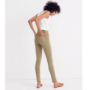 "Madewell 9"" High Rise Skinny Jeans: Raw-Hem"